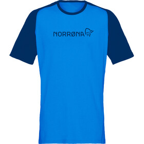 Norrøna Fjørå Equaliser Lightweight T-Shirt Men Hot Sapphire